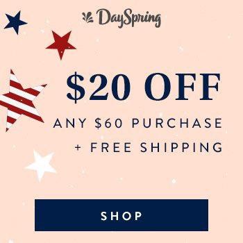 DaySpring Memorial Sale
